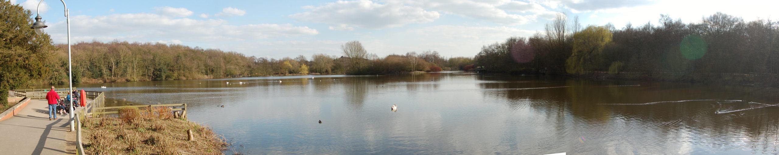 Rufford Abbey Lake