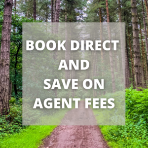 Book Direct And Save On Agent Fees