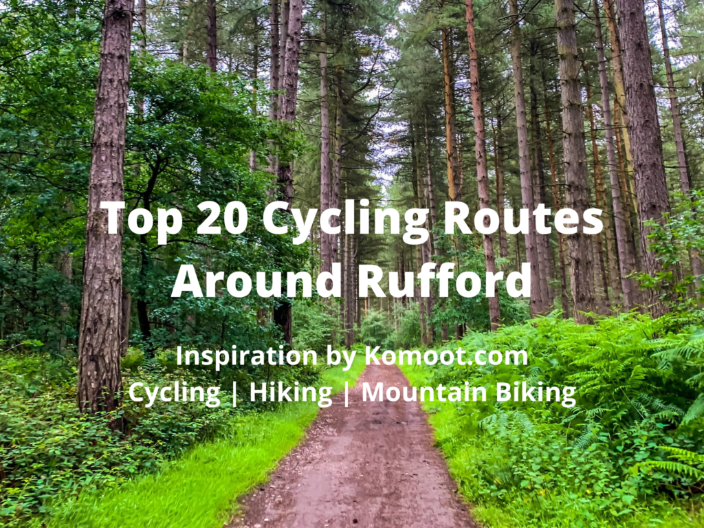 Top twenty cycling routes around Rufford