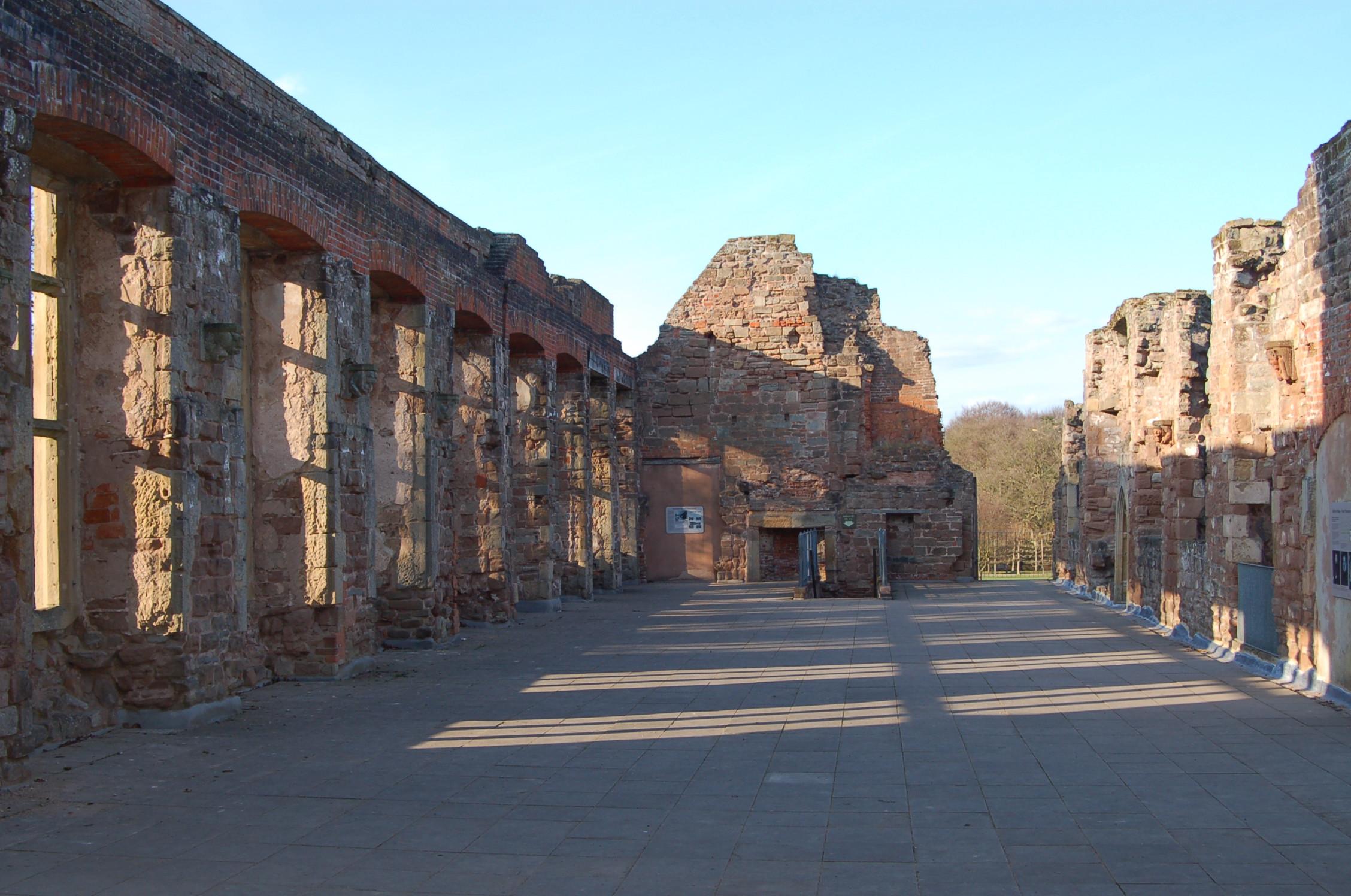 Rufford Abbey Ruins
