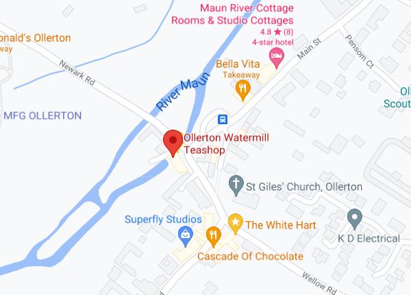 Ollerton Watermill Google Map