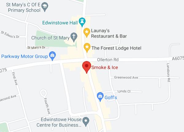 Smoke and Ice Google Map